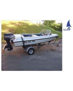 Sportboot Angelboot Motorboot mit Yamaha 30DMO Gebrauchtboot