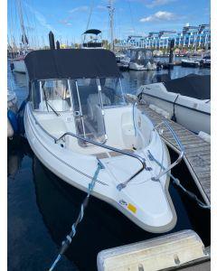 Motorboot Crescent V-23 Dorado inkl. Suzuki DF150APL Gebrauchtboot