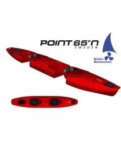 Kajak 2er teilbar und erweiterbar Modular Point 65 Martini GTX inkl. Steueranlage Ausstellungsboot in Rot