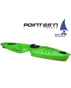 Kajak 1er teilbar und erweiterbar Modular Point 65 Martini GTX inkl. Steueranlage Ausstellungsboot in Lime