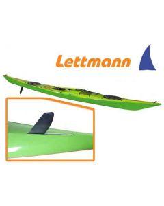 Kajak Seekajak Lettmann Biskaya MV Expedition Plus inkl. integrierte Balance Steueranlage und Tagesstaufach Ausstellungsboot Lime
