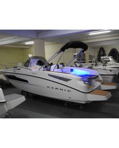 Motorboot Karnic SL 601 Neuboot mit super Sonderausstattung LAGERBOOT