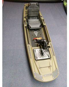 Modulares Angelkajak Point 65 Kingfisher Solo Lagerboot Neu