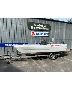 Angelboot Motorboot Pioner Multi mit Yamaha F70AETL Gebrauchtboot